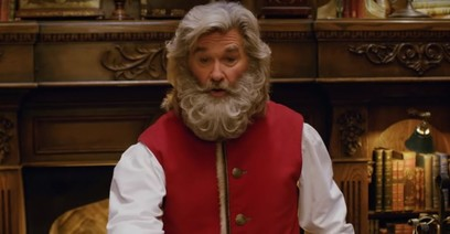 The Christmas Chronicles Santa.This Week You Can Watch Kurt Russell As Santa Claus In The